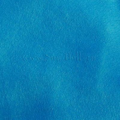 Фетр шерсть-вискоза,  1 лист 20*30 см — бирюзовый