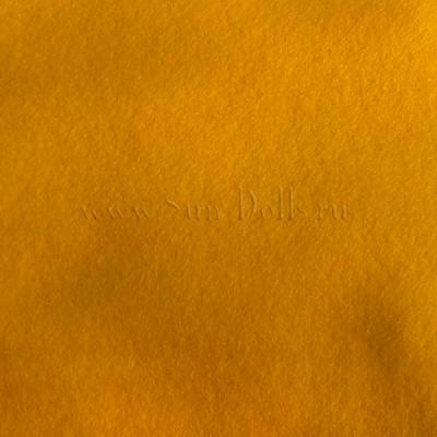 Фетр шерсть-вискоза,  1 лист 20*30 см — желтый