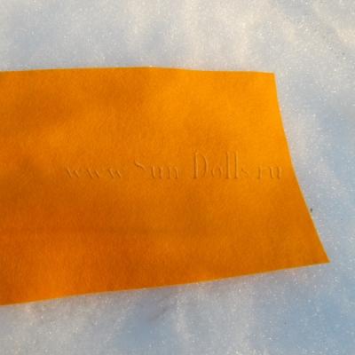 Фетр шерсть-вискоза,  1 лист 20*30 см — персиковый