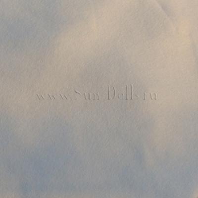 Фетр шерсть-вискоза, 1 лист 20*30 см — белый