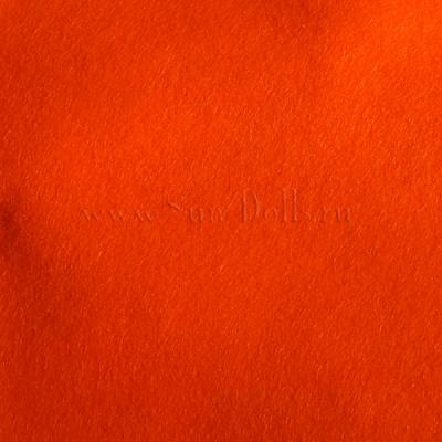 Фетр шерсть-вискоза,  1 лист 20*30 см — вермилион