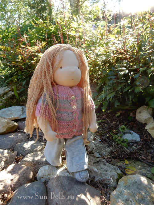 Кукла для одевания «Мия»