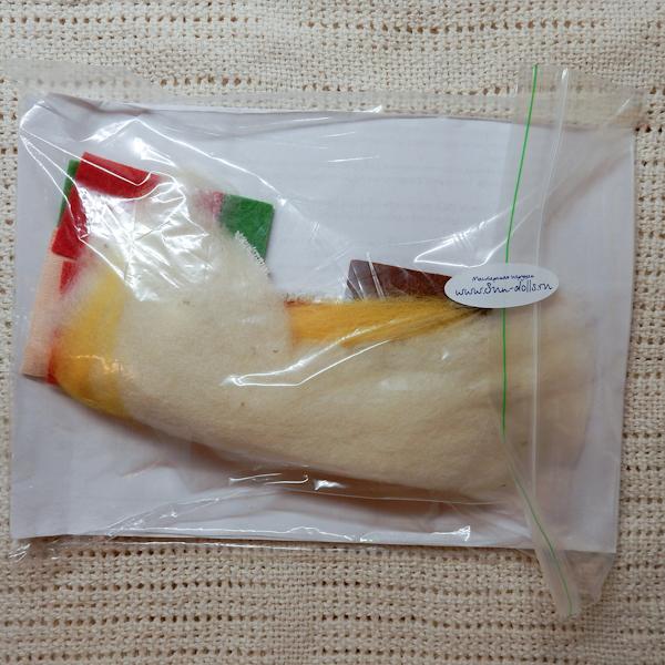 Набор для изготовления игрушки «Земляничкин»