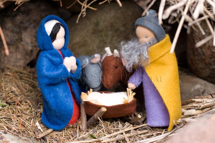 Набор для изготовления игрушки «Мария с младенцем»