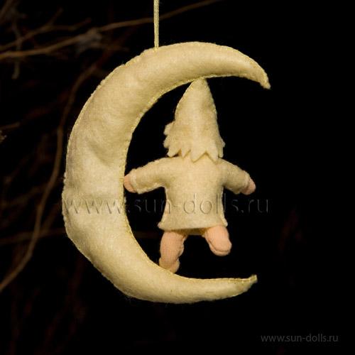 Набор для изготовления игрушки «Лунная детка»