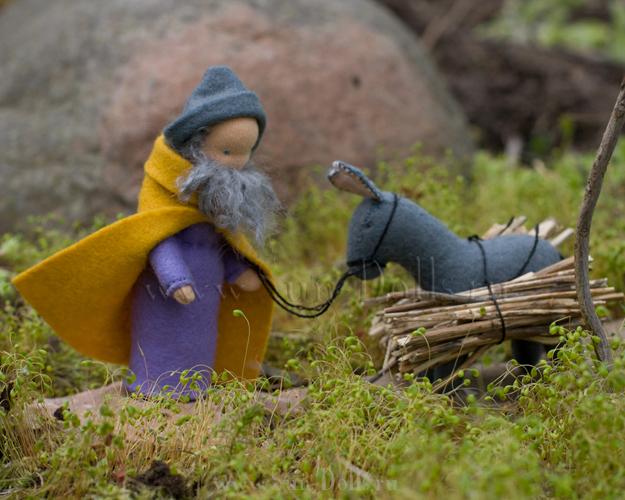 Набор для изготовления игрушек  «Иосиф и ослик»