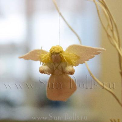 Набор для изготовления игрушки «Ангел»