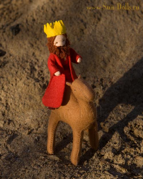 Набор  для изготовления игрушки «Король»