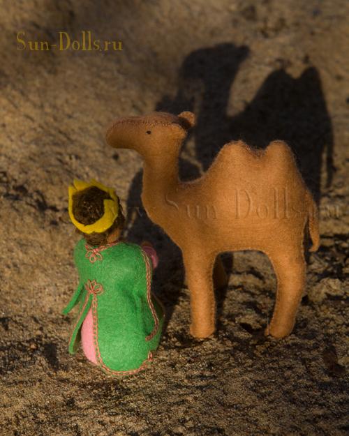 Набор для изготовления игрушки «Царь Эфиопский»