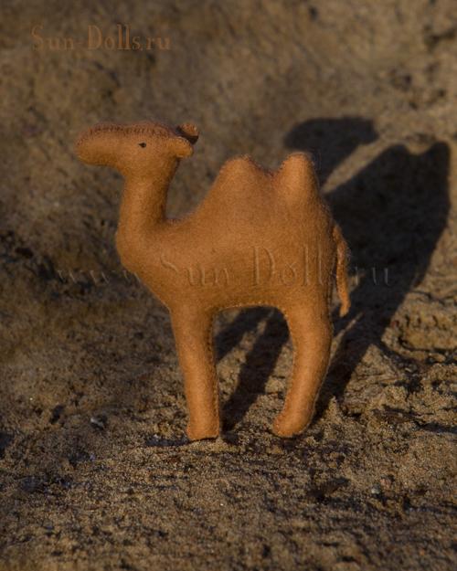 Набор  для изготовления игрушки «Верблюд Камиль»