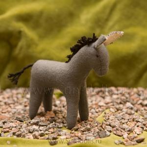 Набор для изготовления игрушки «Ослик Даня» 13 см