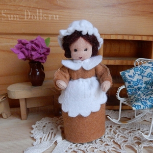 Набор  для изготовления игрушки «Три сестры. Корица»